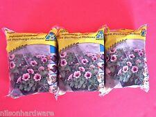 3 Pk Jiffy Seed Starting Plant Peat Pellets Refill Greenhouses 25 Pellets/Bag