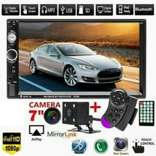 7 Inch DOUBLE 2DIN Car MP5 Player B Touch Screen Stereo Radio USB /TF+HD Camera