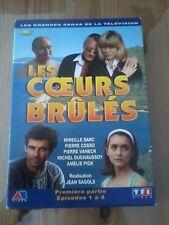 LES COEURS BRULES première partie - Mireille DARC -Série TV - COFFRET DVD en TBE