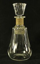 BACCARAT Bisquit Extra Cognac Piccadilly Pattern DECANTER With Stopper