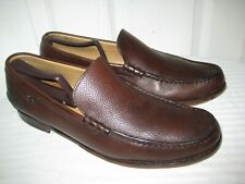 03de263b79e Paraboot Brown Leather Loafers Shoes Mens Size 11 W Made In SPAIN.
