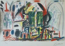 PABLO PICASSO CALIFORNIE I SIGNED HAND NUMBERED LITHOGRAPH ATELIER CALIFORNIA