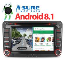 Android 8.1 GPS DVD DAB+ Autoradio Navi für VW Passat Golf Tiguan Touran Polo T5