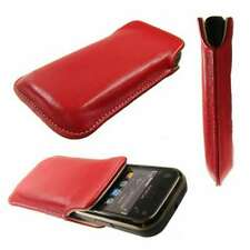 Smartphone / Feature-Phone Case for Nokia X3-02 Pouch Protective Cover in red