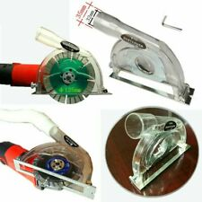"For 4"" / 5"" Hand Angle Grinder and 3""/4""/5"" saw blades Clear Cutting Dust Shroud"