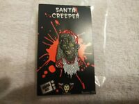 Crypt Keeper Santa Enamel Pin Tales From The Crypt Fright Crate Exclusive NEW