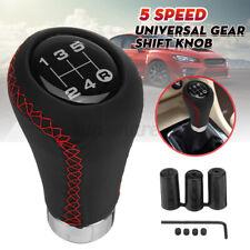 5 Speed Universal Manual Transmission Gear Shift Knob Shifter Lever PU