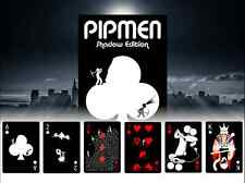 Pipmen Shadow Playing Cards Poker Size Deck LPCC Custom Limited Edition Sealed