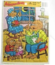 THE BERENSTAIN BEARS GHOST STORIES GOLDEN FRAME TRAY PUZZLE VINTAGE 1982