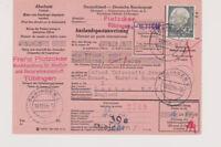 BUND, Mi. 189x, Ausl.PAW, Tübingen - London, 18.12.54