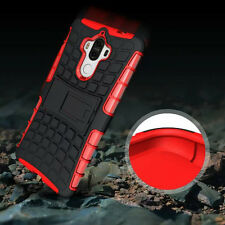 Red Hybrid Shockproof Hard Rugged Heavy Duty Cover Case For Various Phones