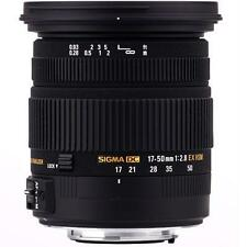 Sigma DC 17-50mm F/2.8 HSM EX DG OS Lens