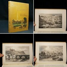 1890 ENGLISH PICTURES Drawn PEN AND PENCIL Illustrated Throughout UK TOPOGRAPHY