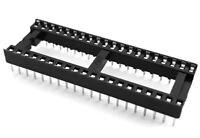 10pcs 40 Pin IC Socket DIL DIP PCB Mount Connectors ~NEW~