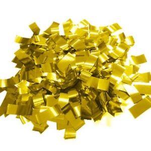Confetti GOLD Mylar per pound flameproof confetti rectangular Metallic confetti