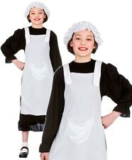 Girls Poor Victorian Fancy Dress Costume Book Week Work House Maid XL 11 12 13