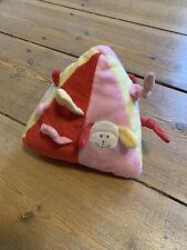 Rassel Babyspielzeug Fühlen Greifen Dreieck Plüsch