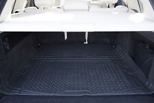WATERPROOF CAR BOOT MAT HEAVY DUTY RUBBER LINER PROTECTOR NON SLIP LARGE BLACK