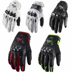 Fox Racing Bomber Gloves - MX Motocross Dirt Bike Off Road ATV Mens Gloves