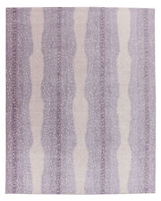 New Brand Antelope Purple Handmade Contemporary Style Wool Area RUG & Carpet