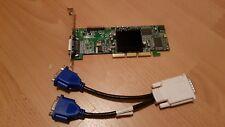 Matrox Low Profile carte graphique G550 32 Mo AGP G 55 MADDAP 32DB avec Câble de répartition de