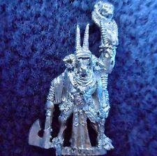 1993 Chaos Beastman Bray Shaman 2 Citadel Warhammer Beastmen Army Shamen Broo GW