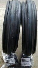 2 - 4.00-8 4P Deestone Tri Rib F-2 TIRES and TUBES DS5106
