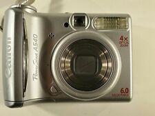 Canon PowerShot A540 6.0MP Digital Camera - Silver