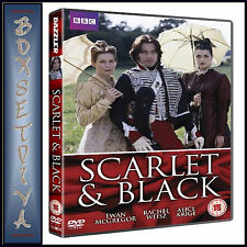 SCARLET AND BLACK - COMPLETE BBC MINI SERIES   **BRAND NEW DVD**