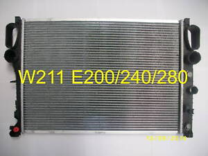 NEW RADIATOR MERCEDES  BENZ W211 E CLASS 200 - 350 ( For OE 2115001302 Only)
