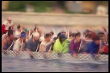 155092 DRAGON Boat RACERS VANCOUVER BC A4 FOTO STAMPA