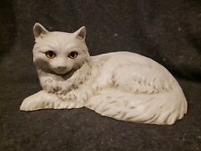 1983 Universal Statuary White Cat Statue 236