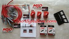 Msd kit accensione ignition coil + cavi wires included Vw Vr6 Golf corrado NEW
