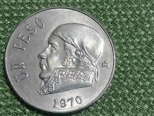 Mexico 1970, Un Peso UNCIRCULATED