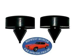 40-90 GM Trunk Deck Lid Hood Fender Cowl Door Jamb Glove Box Rubber Bumpers 2p J