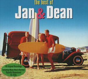 JAN & DEAN - THE BEST OF - 2 CDS - NEW!!