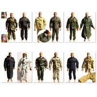 Lot  5 GI JOE Soldier 1/6 Custom Clothes Dress for 12'' dragon BBI dolls   MBJD