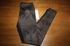 NWT Lululemon Wunder Under Pant bead envy Golden Goddess Luon 6 pants, tights
