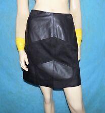 jupe ZARA noire aspect cuir Taille : XS TRES BON ETAT