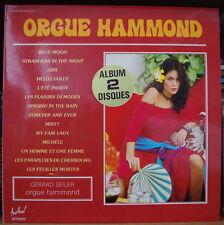 GERARD SEILER ORGUE HAMMOND CHEESECAKE COVER DOUBLE FRENCH LP