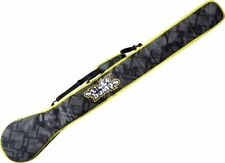 """Sticky Bumps Sup Paddle Cover 84"""" Black/Yellow/Reflective"""