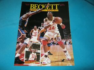 BASKETBALL BECKETT MONTHLY OCTOBER 1994 ISSUE #51 HAKEEM OLAJUWON / JUWAN HOWARD