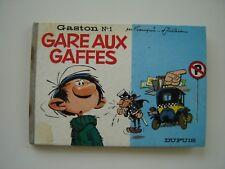 Franquin / Jidéhem: Gaston n°1. Gare aux gaffes. EO Voir état.