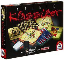 Schmidt Spiele 49120 Klassiker Spielesammlung mit Kniffel
