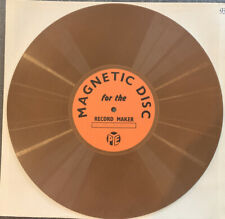 Pye Record Maker Magnetic Disc - Extremely RARE & Collectible Great Investment