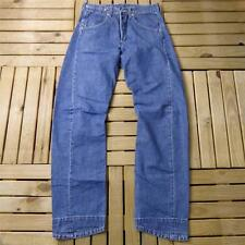 Mens LEVIS Engineered Stonewashed Blue W30 L32 Vintage Denim Red Tab Jeans A1129