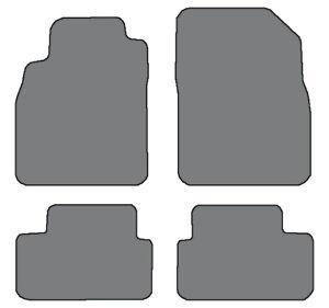2011-2015 Chevrolet Cruze 4pc Custom Fit Carpet Floor Mats - Black