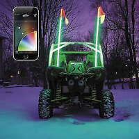 XKGLOW XK-WHIP-ADV DUAL WHIP LED LIGHT KIT ATV UTV POLARIS RZR MAVERICK YXZ1000