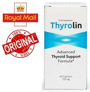 Thyrolin - Advanced Thyroid Support Formula, reduces fatigue and weariness