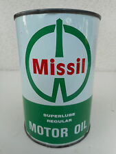 Missil vecchia lattina olio motore vintage motor oil can